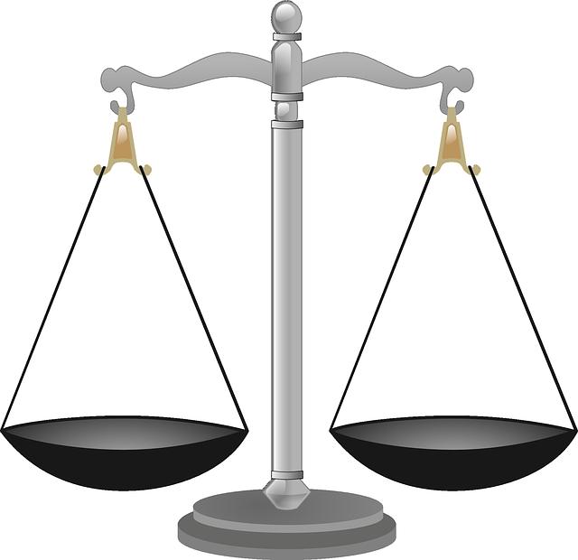 裁判の天秤