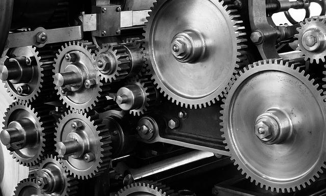 機械の歯車