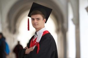 海外卒業写真